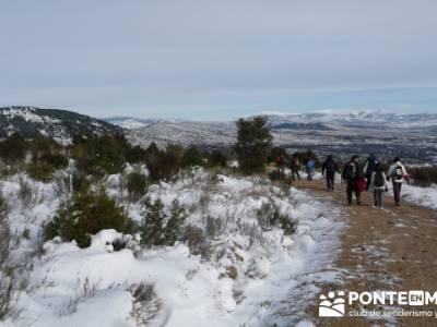 Valdemanco _ Buitrago del Lozoya - mochilas trekking; excursiones de fin de semana